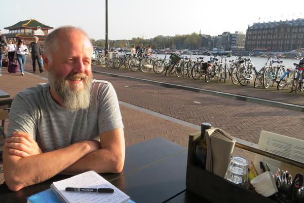 Sandro Kortekaas runs LGBT Asylum Support, a volunteer organization that assists refugees in the Netherlands.