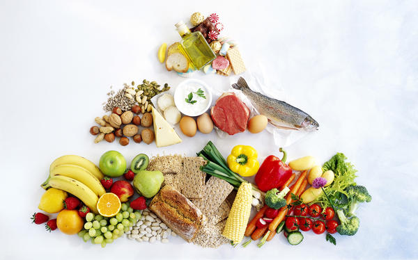 The Mediterranean diet involves lots of whole grains, vegetables, beans, nuts, olive oil, fish and smaller amounts of dairy, poultry and even a little red wine (if you like).