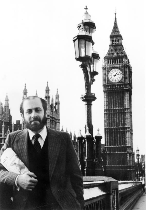 Robert Siegel opened NPR's first overseas bureau in London. He was posted there from 1979 to 1983.