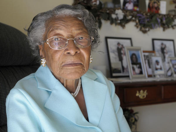 In a speech at the Golden Globes, Oprah Winfrey told the story of Recy Taylor's violent rape by six white men in 1944. Taylor, pictured above, died last month at age 97. Her attackers were never prosecuted.