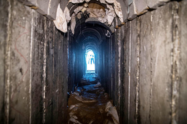 Israel said said it has discovered and destroyed more than 30 tunnels that militants dug from the Gaza Strip. The new underground wall is meant to thwart future tunnels — and existing tunnels Israel has yet to find.