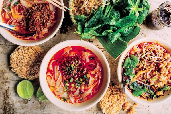 Chef James Syhabout says that, as he was writing the <em>Hawker Fare </em>cookbook, certain recipes became time machines, reminding him of who was in the room when it was made, and the surrounding colors and smells in the atmosphere.