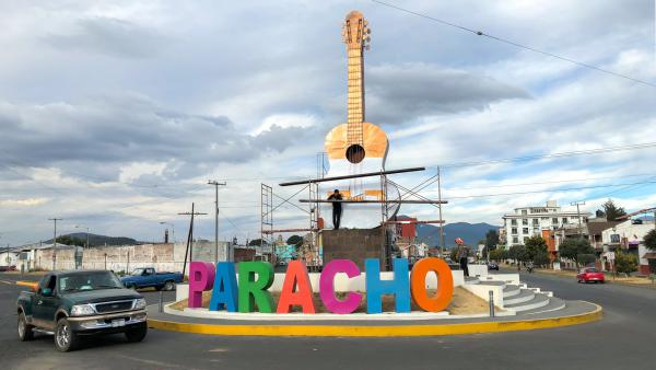 The town of Paracho, in the western Mexican state of Michoacán, has a long history of guitar making dating back to the 18th century. The guitar featured in <em>Coco</em> was designed by a former resident of Paracho. Guitar makers in the town have been enjoying a sales boon ever since the movie debuted late last year.