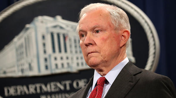 Attorney General Jeff Sessions defended himself and the Justice Department on Wednesday after more criticism from President Trump.