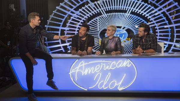 ABC's reboot of <em>American Idol </em>is hosted by<em> </em>Ryan Seacrest and judged by Lionel Richie, Katy Perry and Luke Bryan.