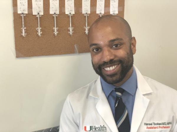 Dr. Hansel Tookes started pushing for needle exchanges when he was a student at the University of Miami.