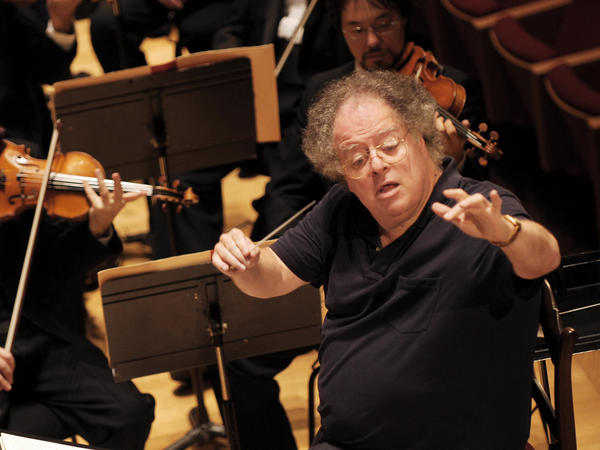James Levine, shown leading the Boston Symphony Orchestra in 2007, has been fired from the Metropolitan Opera in disgrace.
