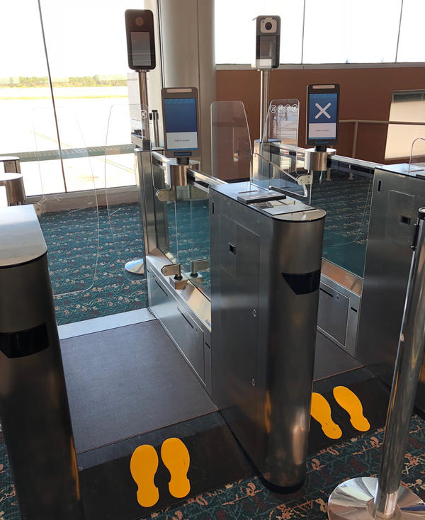 Customs and Border Protection is testing and hopes to expand the use of biometric scanners at airports across the U.S.