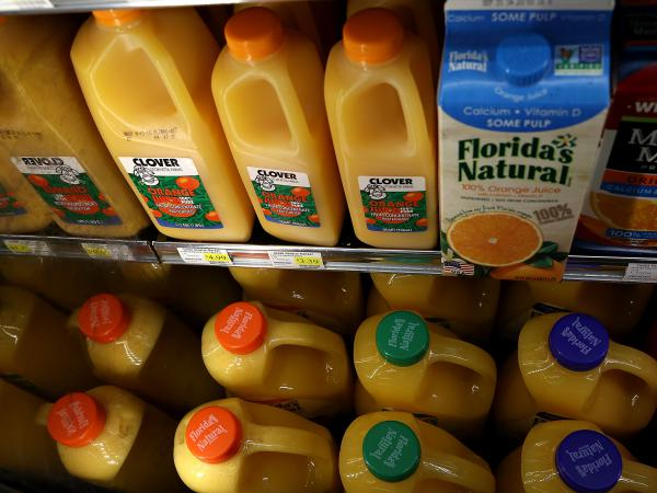 Orange juice is among the U.S. products that may be subject to retaliatory tariffs by the European Union.