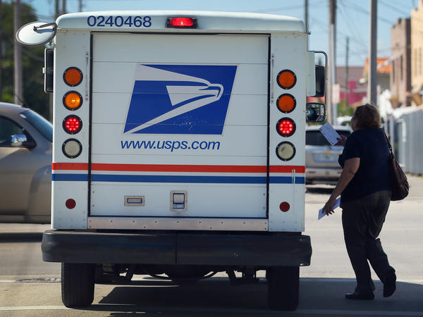 Amazon relies on the U.S. Postal Service for about 40 percent of its package deliveries.