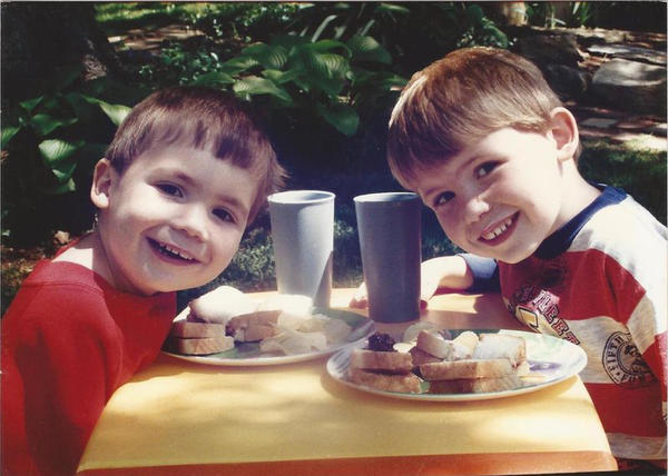 Since they were kids, Russell (right) and his younger brother, Remmick, have relied on each other to navigate the world with autism.