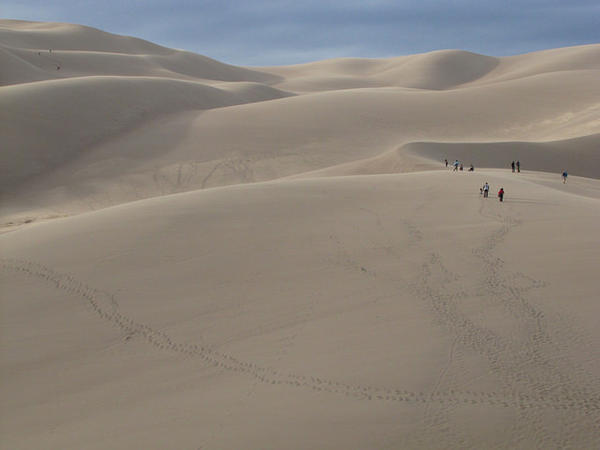 Some of the parcels that will become available for oil drilling in September come within a mile of Great Sand Dunes National Park and Preserve.