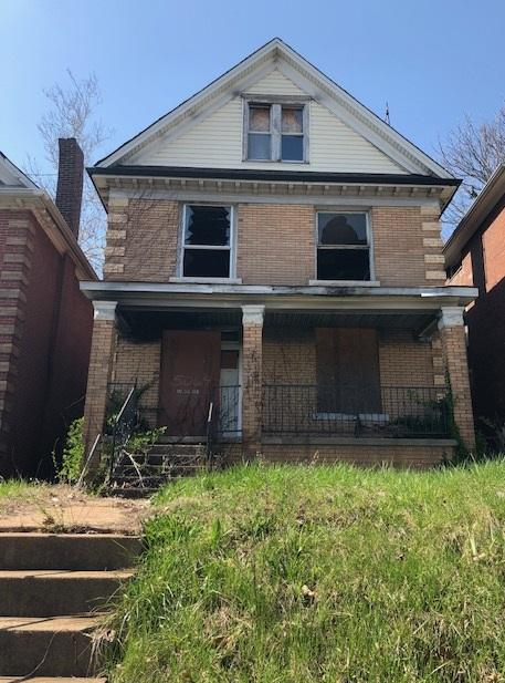 While the houses on either side of the Lewis home are occupied, there are several that sit empty on the same block of Lotus Avenue.