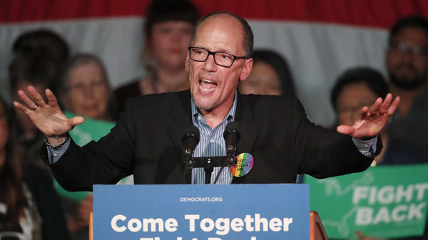 Democratic National Committee Chairman Tom Perez hasn't quite figured out how to calm the restive Democratic base, but the left hasn't bitten the Democratic Party just yet.