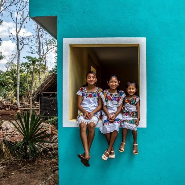 Helpful kids are happy kids: Pitching in with household jobs builds confidence and gives children a sense of belonging, psychologists say. Sisters Angela, 12, Gelmy, 9, and Alexa Natali, 4, know this well. Since they were toddlers, their mom has encouraged them to help around their home in a village near Valladolid, Mexico.