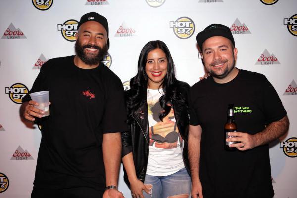 <em></em>The hosts of Hot 97's <em>Ebro in the Morning</em> (left to right: Ebro Darden, Laura Stylez, Peter Rosenberg) in New York in 2015.