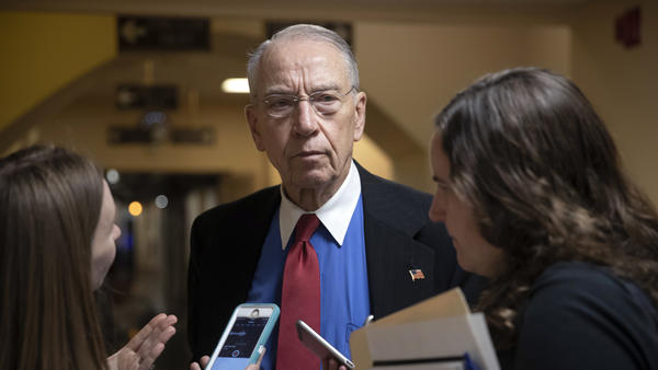 Senate Judiciary Committee Chairman Chuck Grassley, R-Iowa, seen here leaving the Capitol in May, expressed his dissatisfaction Wednesday with a report on sexual harassment in the federal judiciary.