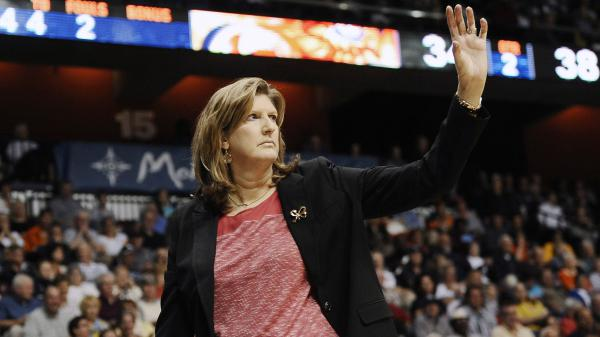 Anne Donovan became a championship coach in the WNBA after winning at the college and Olympic levels as a player. She's being mourned by fellow basketball greats, including Tamika Catchings and Dawn Staley.