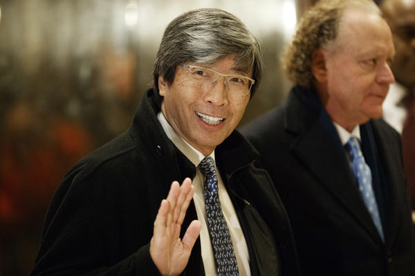 Billionaire Dr. Patrick Soon-Shiong officially takes control of the<em> Los Angeles Times</em> and <em>The San Diego Union-Tribune</em> as soon as Monday, sources familiar with the deal tell NPR.