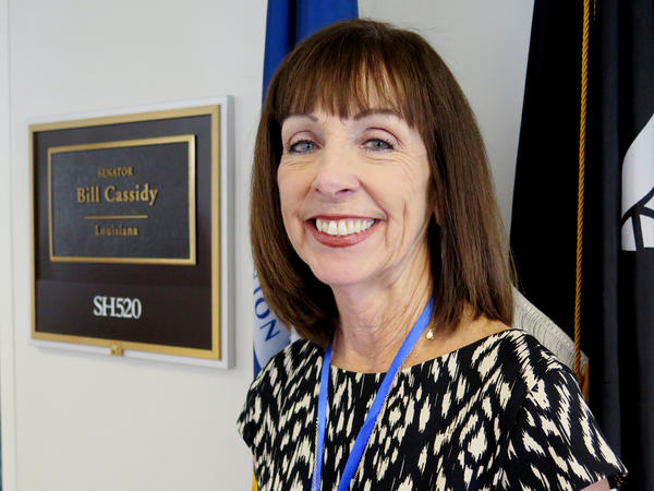 Pat Ehrle took the Partners in Policymaking class in Louisiana and it prepared her for trips like a recent one to Capitol Hill in Washington to talk about legislation and policy with her state's lawmakers.
