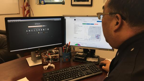 LAPD Deputy Chief Dennis Kato tracks crime statistics in near real time and searches across databases using new, more powerful analytics tools.