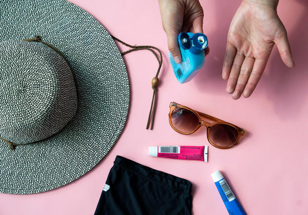 Avoid sun damage by covering up with hats and long sleeves, and limit exposure during the hottest part of the day.