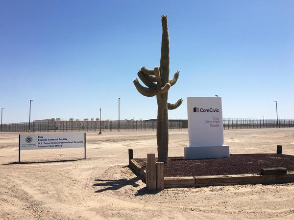 Gonzalez was detained at Eloy Detention Center in Eloy, Ariz.