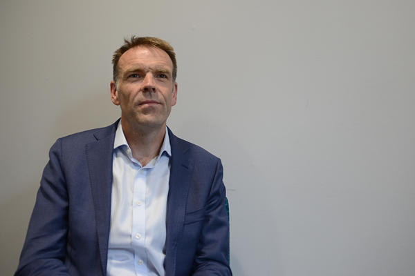 Gareth Stace, director of UK Steel, says tariffs are bad for his members and bad for workers in the United States.
