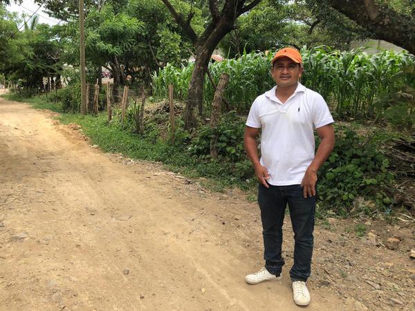 Rudy Migdael Ramirez in Jutiapa, Guatemala.