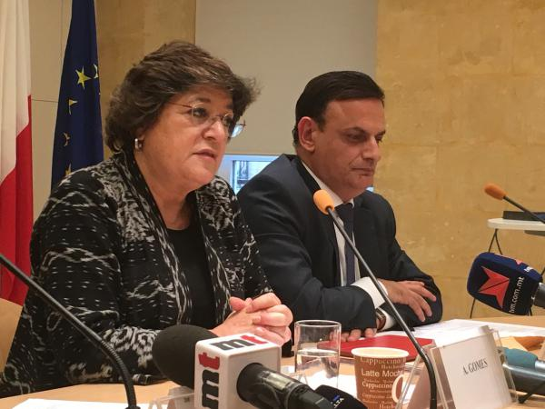 Ana Gomes, a Portuguese member of the European Parliament, has led delegations to push for answers on the murder investigation in Malta.