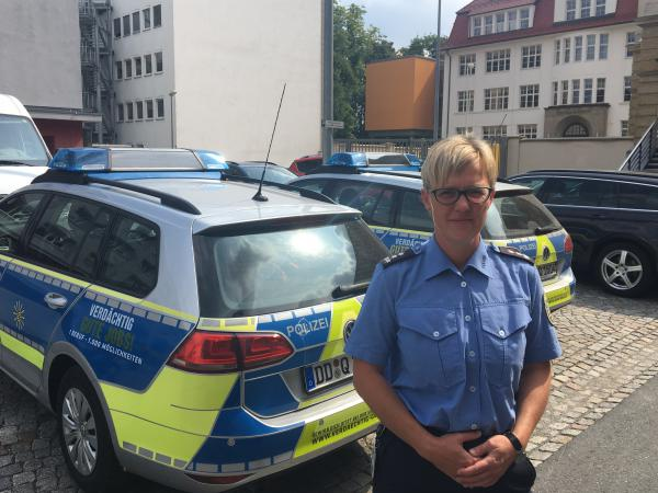 "Jana Ulbricht is a spokeswoman for the police department in Chemnitz, Germany. ""I think the refugees have a very different experience of police in their home countries,"" she says. ""In their homelands, they don't have the concept yet that we have here in Germany of police as friend and helper."""