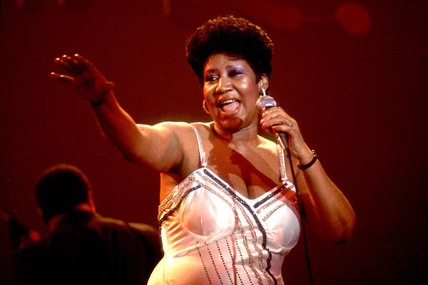 Franklin, onstage in Chicago in 1992. She sold more than 75 million records during her life, making her one of the best-selling artists of all time.