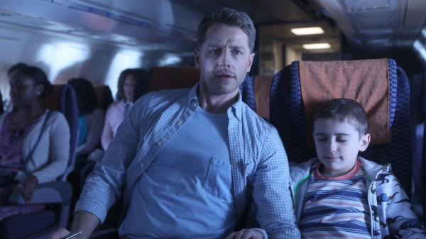 In <em>Manifest</em>, Ben Stone (Josh Dallas) and Cal Stone (Jack Messina) take a mysterious flight and disappear for five years.