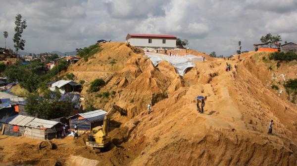 Balukhali Rohingya refugee camp