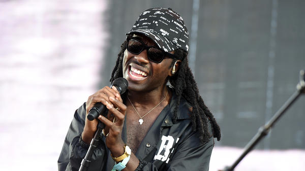 Dev Hynes a.k.a Blood Orange performs during FYF Fest 2016 in Los Angeles.