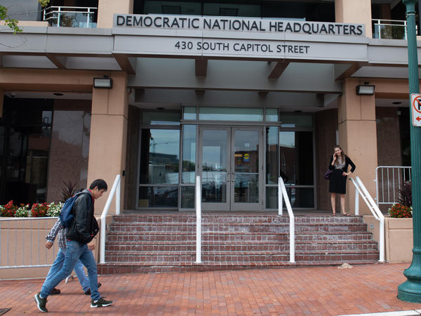 """I think we all still have PTSD from 2016,"" says Raffi Krikorian, chief technology officer at the Democratic National Committee, referring to the massive hack of DNC emails at a pivotal moment in the presidential election."