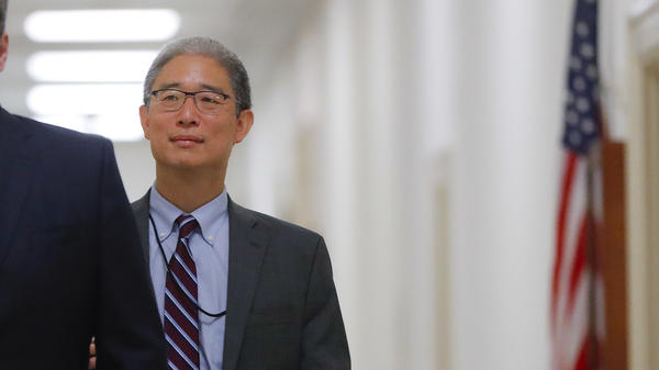 Justice Department official Bruce Ohr arrives for a closed hearing of the House Judiciary and House oversight committees last week on Capitol Hill in Washington.