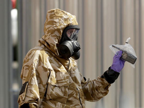 British authorities have been sharing samples from their investigations with the Organisation for the Prohibition of Chemical Weapons.