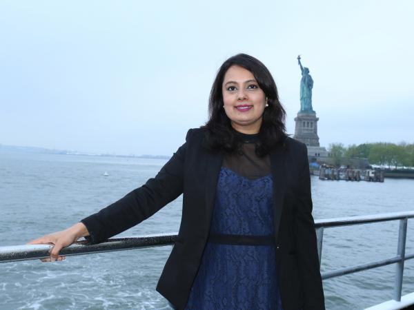 TV journalist Neha Mahajan could lose her work permit if the Trump administration ends a special program for the spouses of H-1B guest workers.