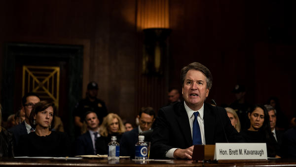 "Judge Brett Kavanaugh called sexual assault accusations ""a calculated and orchestrated political hit"" on Thursday."