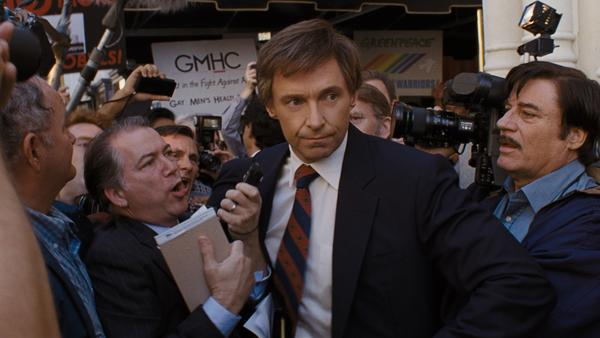 <em>The Front Runner </em>follows Gary Hart's (Hugh Jackman) failed presidential campaign.