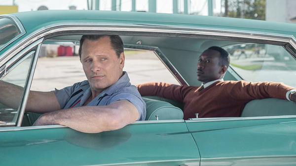 <em>Green Book</em> tells the real-life story of Don Shirley (Mahershala Ali) and Tony Lip's (Viggo Mortensen) road trip through the American South.
