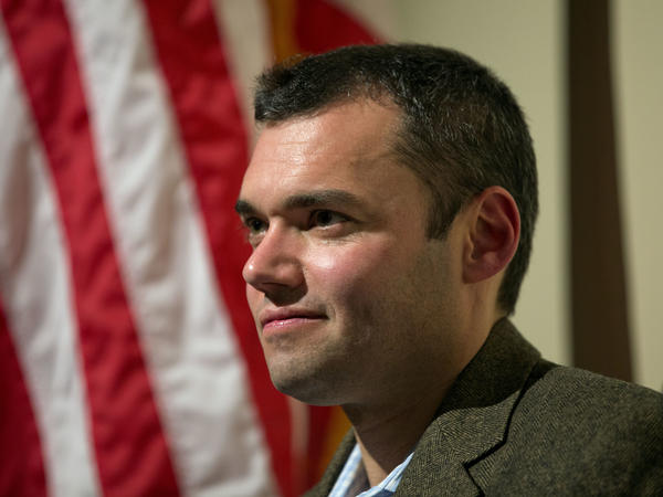 Journalist Peter Beinart, seen here in Atlanta in 2012, is among the outspoken critics of Israeli policies toward Palestinians who have been interrogated upon arrival in Israel.