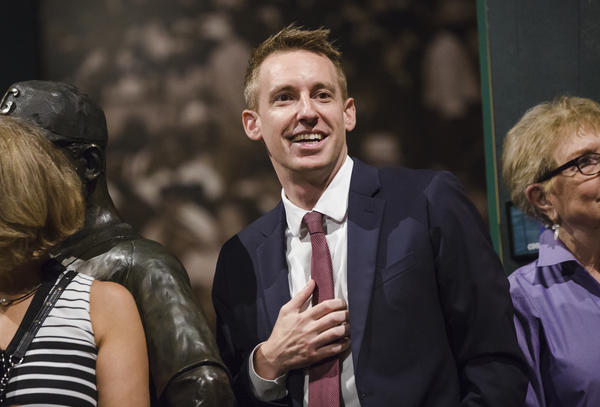 Jason Kander announced Tuesday he is dropping out of the race for mayor of Kansas City, Missouri.