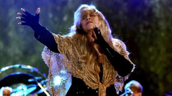 Stevie Nicks of Fleetwood Mac performs onstage during the 2018 iHeartRadio Music Festival.