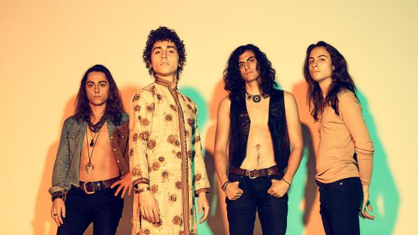 Greta Van Fleet's debut album, <em>Anthem of the Peaceful Army</em>, is out now via Republic Records.