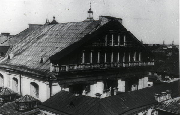 The Great Synagogue in Vilnius, Lithuania's capital, was built in the 17th century. Vilnius served as a center of Jewish life in Eastern Europe before World War II.