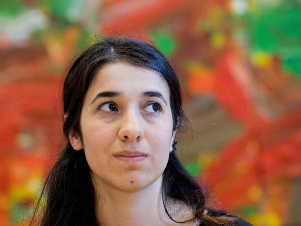 Nadia Murad, from the Yazidi community in Iraq, is the co-winner of this year's Nobel Peace Prize. She was enslaved for three months by ISIS and sexually assaulted. Now she speaks out for victims of sexual enslavement.