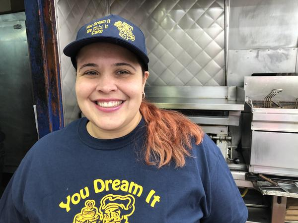 Betsy Leyva is co-owner of a Brooklyn, N.Y., bakery that has an online-only restaurant, with deliveries by Uber Eats.