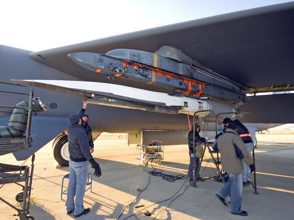 The X-51A Waverider was a prototype hypersonic missile capable of flying at Mach 5.1 for hundreds of miles. The Air Force is stepping up its development of similar weapons.